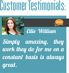 Our Customer Testimonials